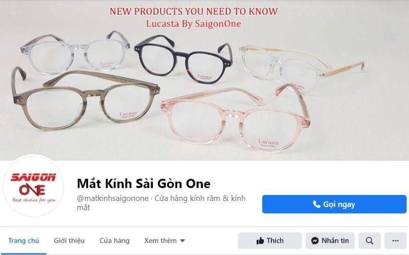 Shop mắt kính ở TPHCM - Cửa hàng mắt kính Sài Gòn One