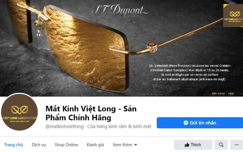 Shop mắt kính ở tphcm - Cửa hàng mắt kính Việt Long