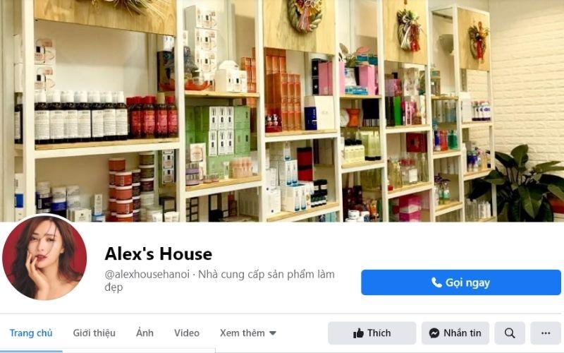 Alex's House là cửa hàng mỹ phẩm rất uy tín được nhiều chị em tin tưởng