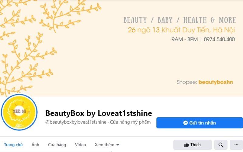 Đây chính là địa chỉ mua mỹ phẩm online tại Hà Nội rất được yêu thích