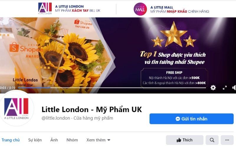 Little London có đa dạng sản phẩm đi kèm chất lượng tuyệt vời