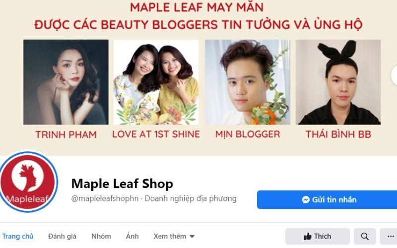 Mọi sản phẩm mỹ phẩm tại Maple Leaf Shop đều có nguồn gốc rõ ràng, nhập khẩu trực tiếp từ nước ngoài