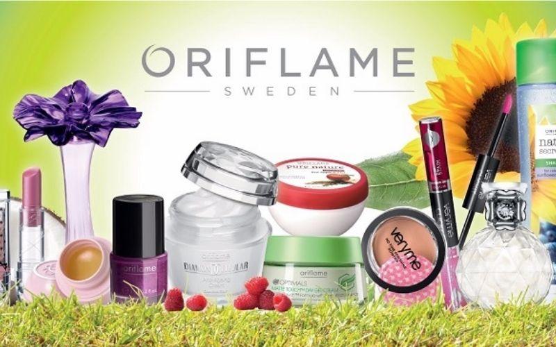 Thương hiệu mỹ phẩm Châu Âu nổi tiếng Oriflame