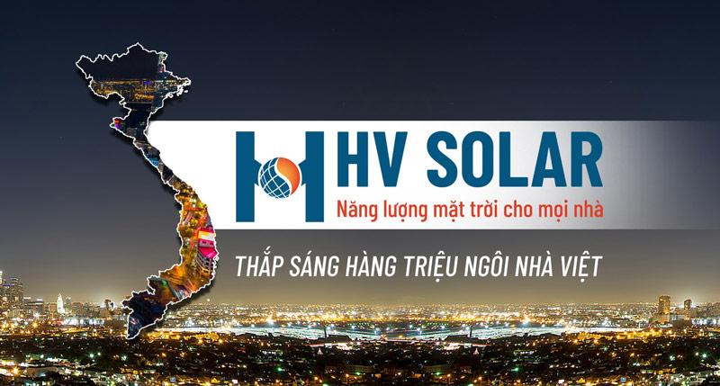 Đại lý đèn năng lượng mặt trời HV Solar