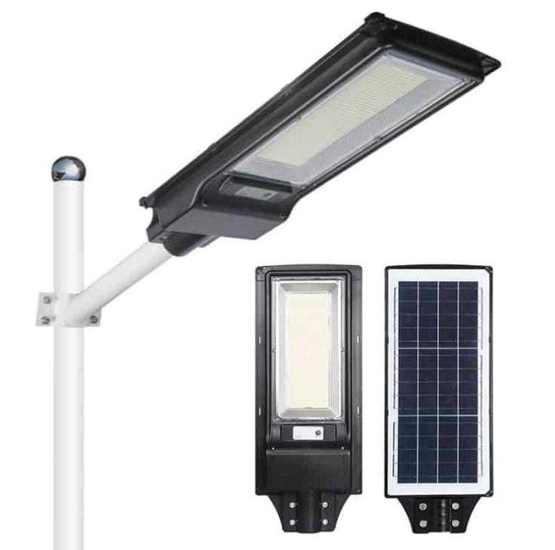Đèn năng lượng mặt trời pin liền 200W