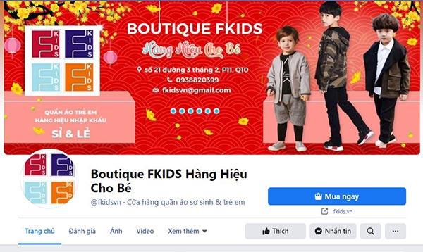 Fkids thời trang dành cho bé gái