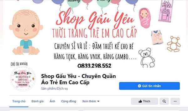 Shop quần áo cho bé gái tphcm tại Shop gấu yêu