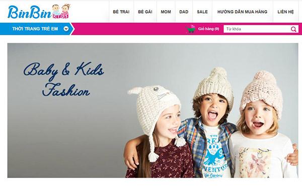 Thời trang trẻ em Binbin shop