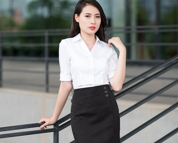 Nguyên tắc chọn áo sơ mi nữ công sở đẹp