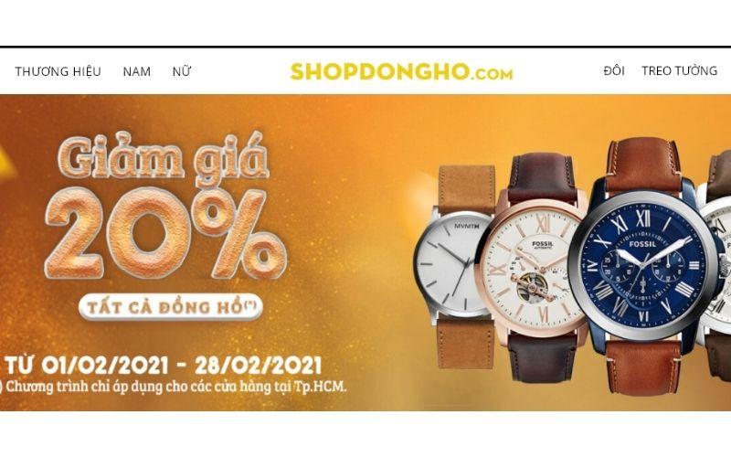 cửa hàng đồng hồ shop đồng hồ