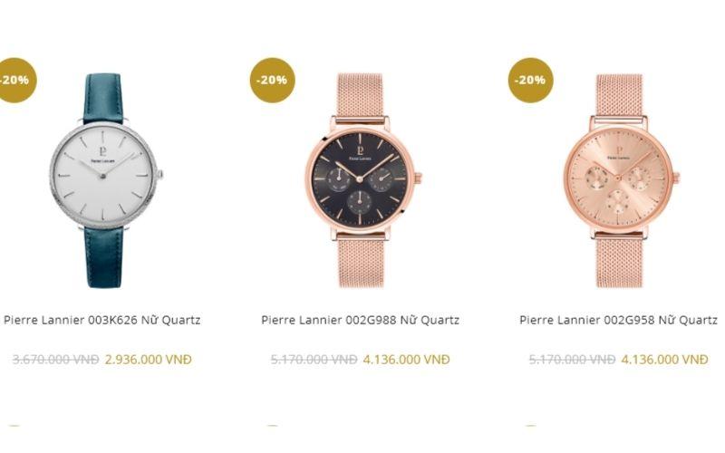 cửa hàng đồng hồ nữ giá rẻ tphcm Ctime