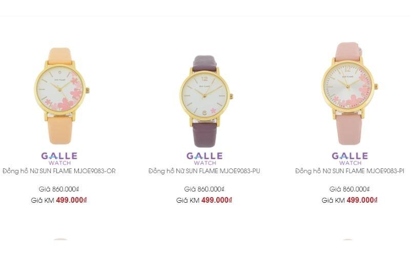 cửa hàng đồng hồ nữ giá rẻ tphcm Galle