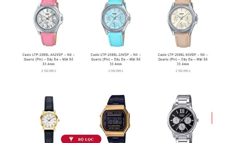 cửa hàng đồng hồ nữ giá rẻ tphcm hải triều