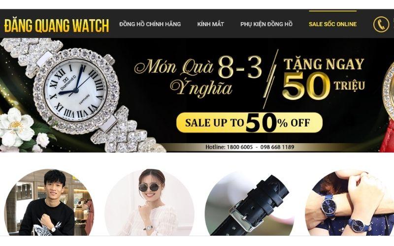 cửa hàng đồng hồ trẻ em giá rẻ tphcm Đăng Quang