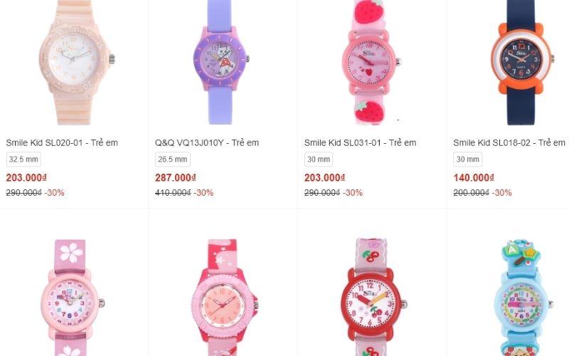 cửa hàng đồng hồ trẻ em giá rẻ tphcm Điện máy Xanhh