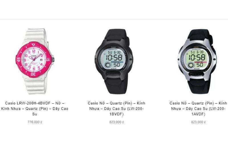cửa hàng đồng hồ trẻ em giá rẻ tphcm Hải Triều