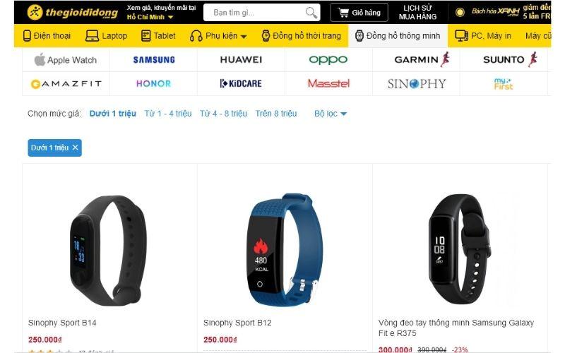 cửa hàng đồng hồ trẻ em giá rẻ tphcm thế giới di động