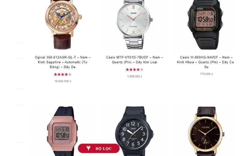 cửa hàng đồng hồ nam giá rẻ tphcm hải triều