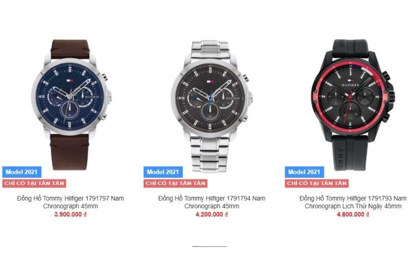 cửa hàng đồng hồ nam giá rẻ tphcm Tân Tân