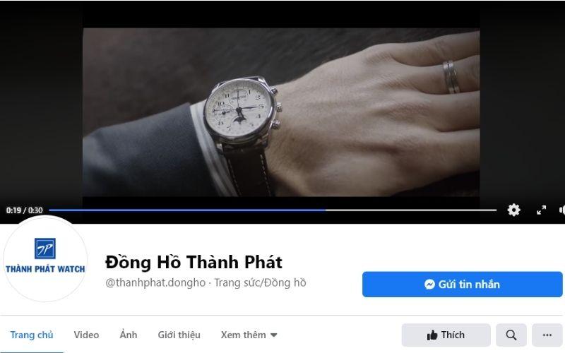 cửa hàng đồng hồ nam giá rẻ tphcm Thành Phát
