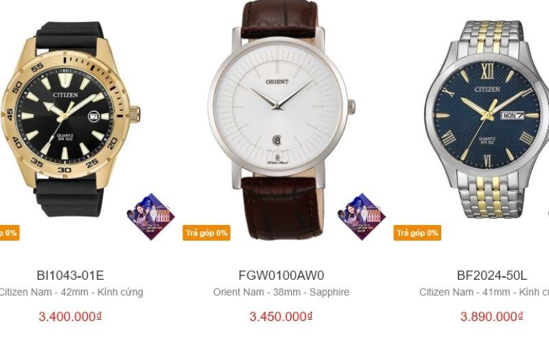 cửa hàng đồng hồ nam giá rẻ tphcm Xwatch