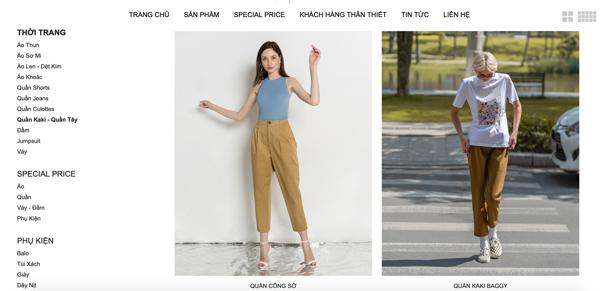 Quần kaki nữ công sở J-P Fashion