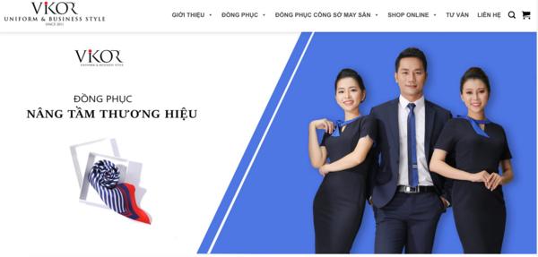 Vikor Uniform - Địa chỉ may đồng phục công sở hàng đầu tại TPHCM