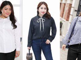 Top 7 Shop Áo Sơ Mi Nữ Big Size, Size Lớn Hàng Đầu Tại TPHCM