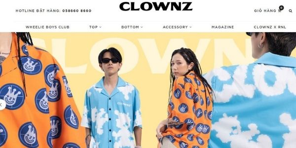 Local Brand Việt Nam ClownZ